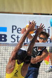 Reinder Nummerdor - beach volleybal Royalty Free Stock Images