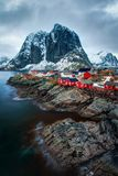 Reine Νορβηγία Στοκ Εικόνες