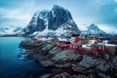 Reine Νορβηγία Στοκ Φωτογραφίες