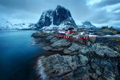 Reine Νορβηγία Στοκ εικόνα με δικαίωμα ελεύθερης χρήσης