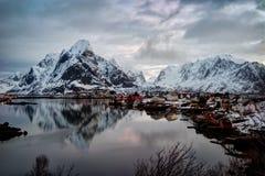 Reine Νορβηγία Στοκ Εικόνα
