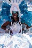 Reine africaine de carnaval Photos libres de droits