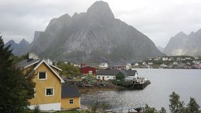 Reine characteristic mountain Stock Images