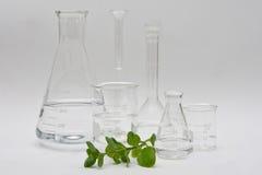 Reine Chemie Stockfoto