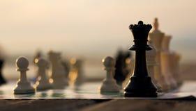 Reine d'échecs Images libres de droits