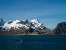 Reine dans Lofoten image libre de droits
