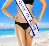 Reine de beauté Images libres de droits