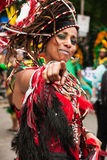 Reine de carnaval Image stock
