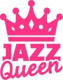 Reine de danse de jazz avec la couronne illustration libre de droits