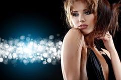 Reine de danse, an neuf heureux Photographie stock