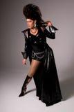Reine de frottement de mode élevée. Image libre de droits