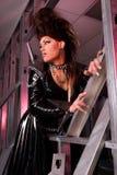 Reine de frottement de mode. Photographie stock libre de droits