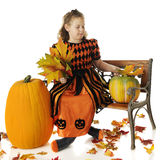 Reine de Halloween Photographie stock libre de droits