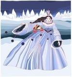 Reine de neige Photographie stock libre de droits