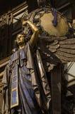 Reine de temps, rue d'Oxford Photo libre de droits
