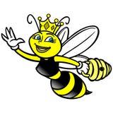 Reine des abeilles illustration de vecteur