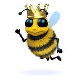 reine des abeilles 3d Photo libre de droits