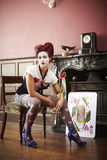 Reine des coeurs photographie stock libre de droits