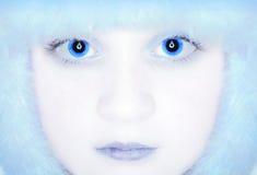 Reine féminine de neige d'hiver  photographie stock