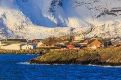 Reine fishing village Stock Images
