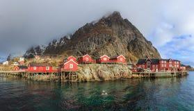 Reine fishing village Royalty Free Stock Photos