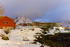 Reine, islas de Lofoten, Noruega Fotografía de archivo libre de regalías