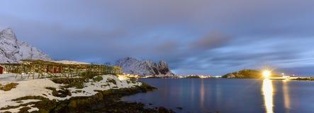 Reine, islas de Lofoten, Noruega Imagen de archivo