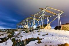 Reine, islas de Lofoten, Noruega Foto de archivo libre de regalías