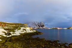 Reine, islas de Lofoten, Noruega Fotografía de archivo