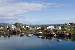 Reine, Lofoten Image stock