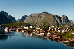 Reine, Lofoten Stock Photo