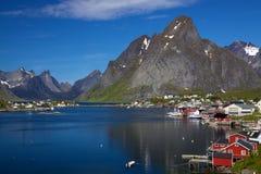 Reine on Lofoten Royalty Free Stock Photos