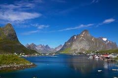 Reine on Lofoten Stock Image