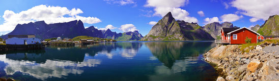 Reine - Lofoten Photos stock