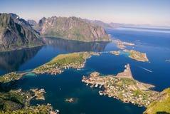 Reine on Lofoten Stock Photo