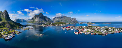 Reine Lofoten Royalty Free Stock Images
