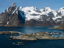 Reine in Lofoten Royalty Free Stock Photography