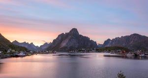 Reine, Lofoten, Norway. Fishing village. Stock Photography