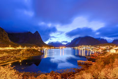 Reine, Lofoten, Norway Stock Photo