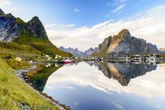 Reine, Lofoten, Norwegia fotografia royalty free