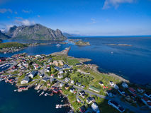 Reine on Lofoten Royalty Free Stock Photo