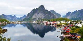 Reine, Lofoten stock photo