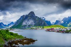 Reine Lofoten Stock Photo