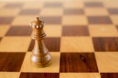 reine noire de jeu d'échecs 3d Image stock