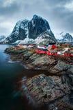 Reine Norway Arkivbilder