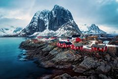 Reine Norway Royaltyfri Fotografi