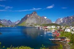 Reine in Norway Stock Photos