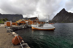 reine norwegen Stockbilder