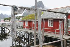 Reine, Norwegen Lizenzfreie Stockfotos