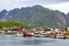 Reine, Norwegen lizenzfreies stockfoto